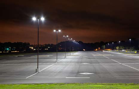 3 Brick 18 Led Medium Parking Lot Fixtures Are Energy