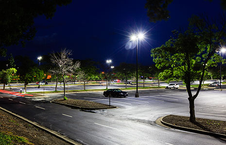 4 brick 12 led large parking lot fixtures are energy efficient aloadofball Image collections