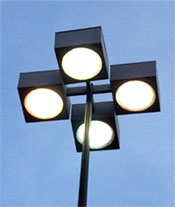 Commercial Outdoor Parking Lot Lighting Fixtures