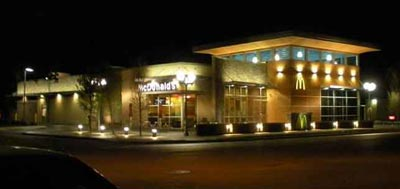 Parking Lot Lighting For A Mcdonalds In Irving Texas Rlld