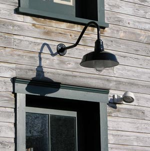 Historic Lighting Project Using Gooseneck Light Fixtures Pa