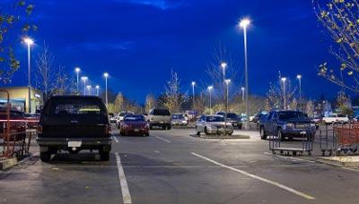 Retrofit Parking Lot Lighting
