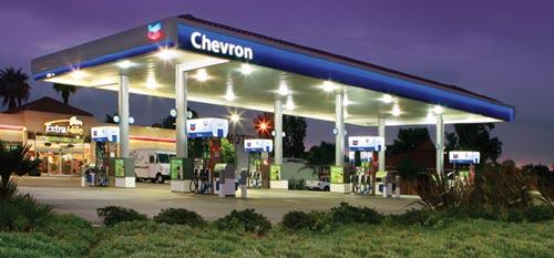 Chevron Parking Lot Lighting Project