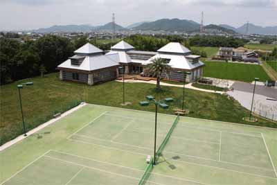 Custom Tennis Court Lighting Project In Tanamatsu Tagawa Japan