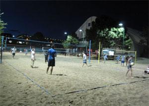 Outdoor Court Lighting Outdoor volleyball court lighting system in flagstaff arizona rlld flagstaff arizona volleyball court lighting photometric project details workwithnaturefo