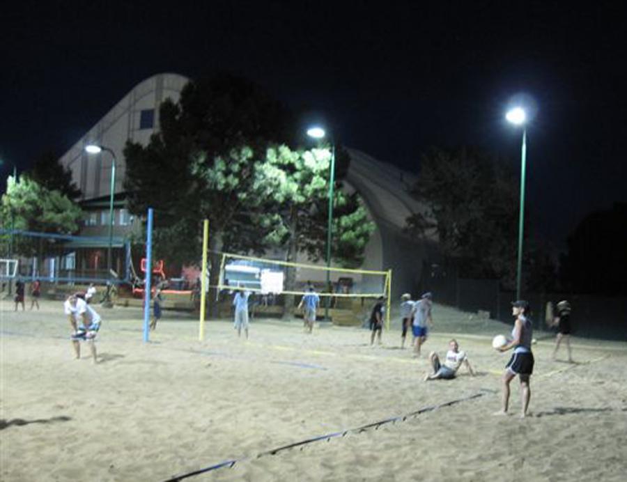 Outdoor Volleyball Court Lighting System In Flagstaff Arizona : RLLD
